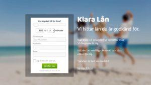 Klara lån en söktjänst för sms lån