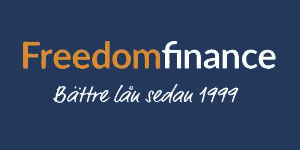 Grafik från Freedom Finance